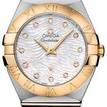 Omega Constellation Brushed 27mm 123.20.27.60.55.008