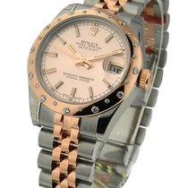 Rolex Unworn 178341 Datejust 31mm in Steel and Rose Gold with...