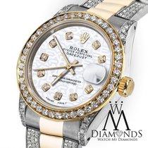 Rolex Women's 31mm Rolex Oyster Perpetual Datejust Custom...