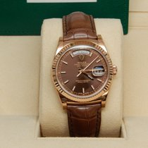 Rolex Day-Date Reference No. 118135 Chocolate Stick  Dial