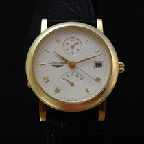 Longines Francillon Power Reserve GMT 18k Gold