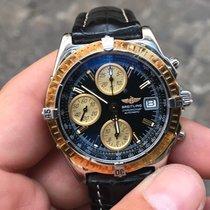 Breitling Blackbird chronomat acciaio oro gold steel