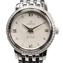 Omega De Ville Stainless Steel White Quartz 424.15.24.60.52.001