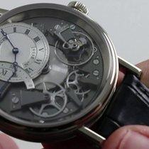 Breguet Tradition Black Strap Silver Dial 7097BBG19WU