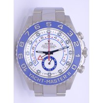 Rolex 44mm Yachtmaster II Model 116680 New Style Heavy Band...