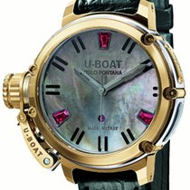 U-Boat Chimera Auto 40 Gold Mother of Pearl