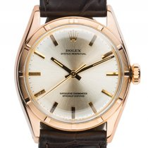 Rolex Oyster Perpetual 18kt Gelbgold Automatik Chronometer...