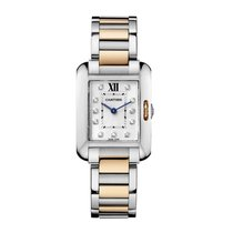 Cartier Tank Anglaise Quartz Ladies Watch Ref WT100024