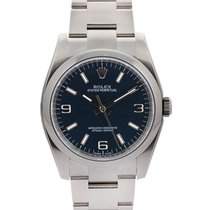 Rolex Oyster Perpetual 36mm In Acciaio Ref. 116000
