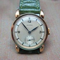 Longines Moneta Fancy Lugs 1940s Dress Watch  With Box