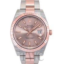 勞力士 (Rolex) Datejust 41 Sundust/Rose gold Oyster 41mm - 126331
