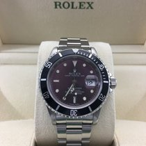 Rolex Submariner Stainless Steel Purple Dial 4-Year Warranty-1...