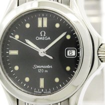 Omega Polished Omega Seamaster 120m Stainless Steel Quartz...