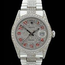 Rolex Datejust/Edelstahl - Ref.: 16014 - Schnellschaltung -...