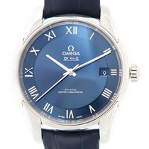 Omega De Ville Stainless Steel Blue Automatic 433.13.41.21.03.001