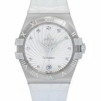 Omega Constellation Steel 35mm Quartz Ladies Watch – 123.13.35...