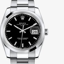 Rolex oyster perpetual DATE black index 2017