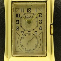 Rolex Prince Brancard, yellow gold, ref. 1490, made in 1928