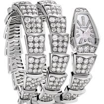 Bulgari Serpenti Jewelery Scaglie 26mm White Gold