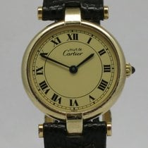 "Cartier ""Must de Vermeil Ronde"" 24mm. case"