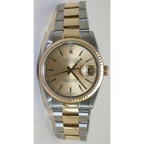 Rolex Datejust 16233 Men's Steel & 18K Gold Oyster...
