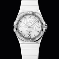 Omega Constellation Quartz 35mm Diamonds  T