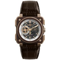 Bell & Ross BR-X1 Bronze Wood Skeleton Instrument de Marine
