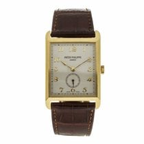 Patek Philippe Gondolo 18K Yellow Gold Watch on Leather 5109J...