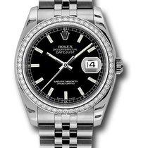 Rolex 116244 Datejust  18K White Gold & Diamond Watch