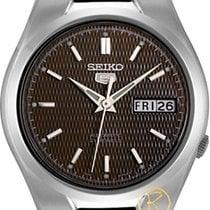 精工 (Seiko) 5 Gent Stainless Steel Bracelet Snk605k1