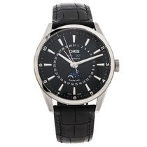 Oris Artix Complication Black Dial Moonphase 42mm NEW