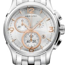 Hamilton Jazzmaster Chrono Quartz H32612155 Herrenchronograph...