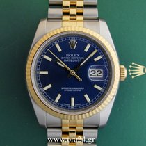 Ρολεξ (Rolex) Datejust 36mm 116233 Gold Steel Blue Dial...