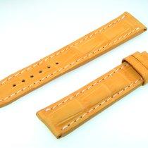 Breitling Tradema Band 20mm Croco Yellow Strap It20-02