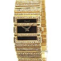 Piaget Ladies Polo 18k Yellow Gold Diamond Quartz Watch 8131 C...