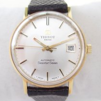 Tissot 18 k solid gold Seastar Seven Automatic with date 1973 ...