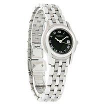 Gucci 5500 Ladies Black & White Dial SS Swiss Quartz Watch...