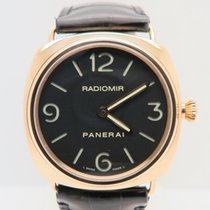 Panerai Radiomir Base 18k Rose Gold  45mm  (Full Set +Strap)