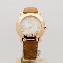Chopard Happy Sport II 18k Rose Gold Diamond 277471-5013