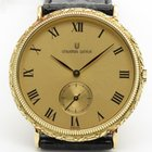 Universal Genève Champagne Color Dial Quartz Ornate 14k Yellow...