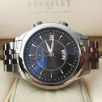 Perrelet Day-Date Alarm Automatic Steel 42 mm (Full Set 2013)