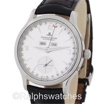 Jaeger-LeCoultre Master Control Triple Calendar Day Date Steel...
