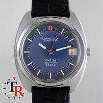 Omega Constellation F300Hz Blue two tone Dial