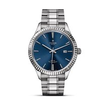 Tudor STYLE Sunray Blue Dial Stainless Steel Automatic Date 12710