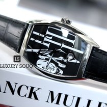 Franck Muller Tenor Curvex Gothic Black Dial Automatic Winding