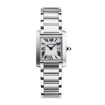Cartier Tank Francaise Quartz Mens Watch Ref W51011Q3