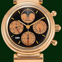 IWC Da Vinci Perpetual Calendar Moonphase 18k Red Gold