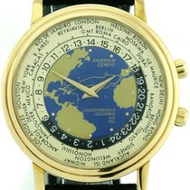 Andersen Genève Christopher Columbus Worldtimer 750/18k Gold...