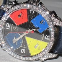 Jacob & Co. JC Stainless Steel Diamonds
