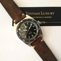 Tissot SeaStar PR 516 Green Dial  Vintage Diver Nice Condition